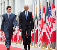 President Obama & Justin Trudeau at the North American Leaders Summit (Credit: CC – by Presidencia de la República Mexicana) Click to Enlarge.