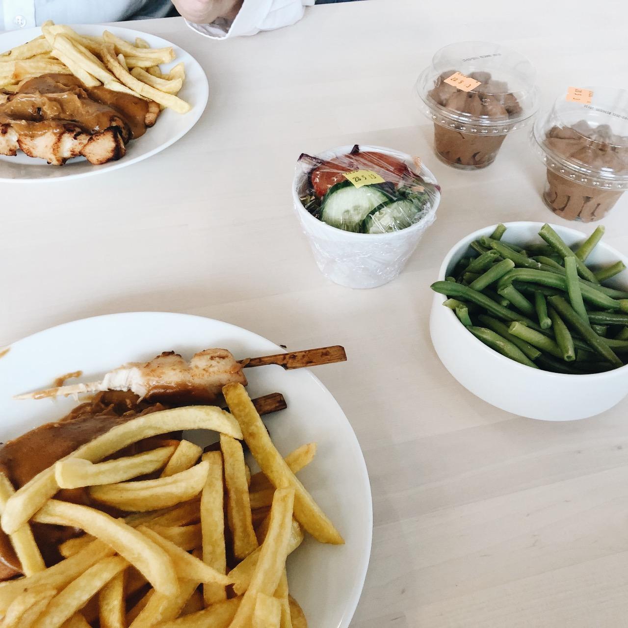 week foto's ikea eten
