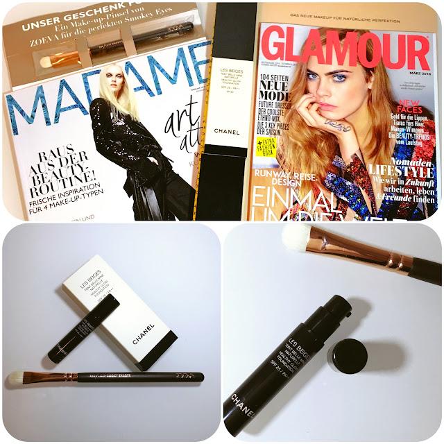 Zoeva Zeitschriften Goodie Chanel Foundation Healthy Glow