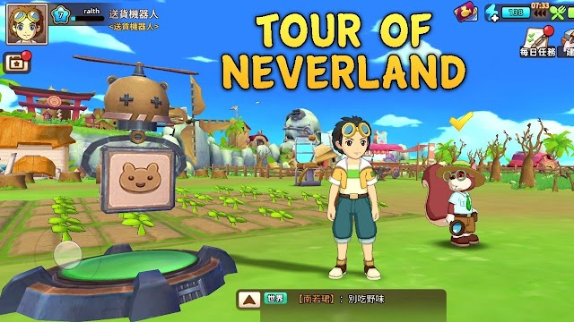 Review: Game Bercocok Tanam Tour Of Neverland