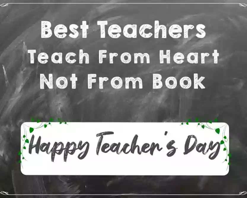 Happy Teacher's day thoughts