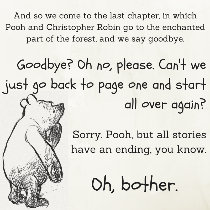 Oh, bother - Winnie the Pooh