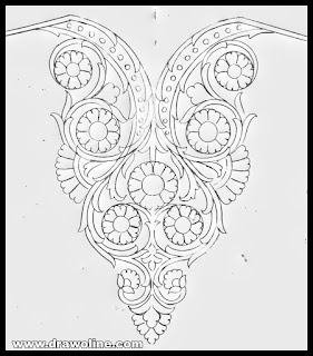 blouse neck design sketches,neck designs drawing,neck designs pencil drawing,new neck design patterns,