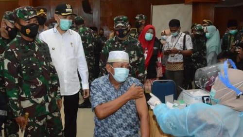 Pangdam I/BB Yakinkan Vaksinasi Massal dan Penerapan PPKM Kota Dumai Maksimal