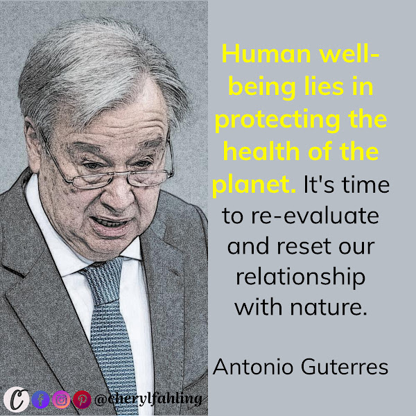 Human well-being lies in protecting the health of the planet. It's time to re-evaluate and reset our relationship with nature. — UN Secretary-General Antonio Guterres