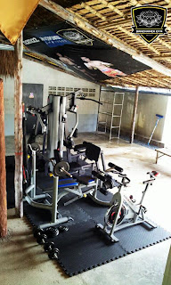 banchamek's fitness room
