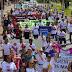 Ruas de Samambaia viram palco para ato contra o feminicídio