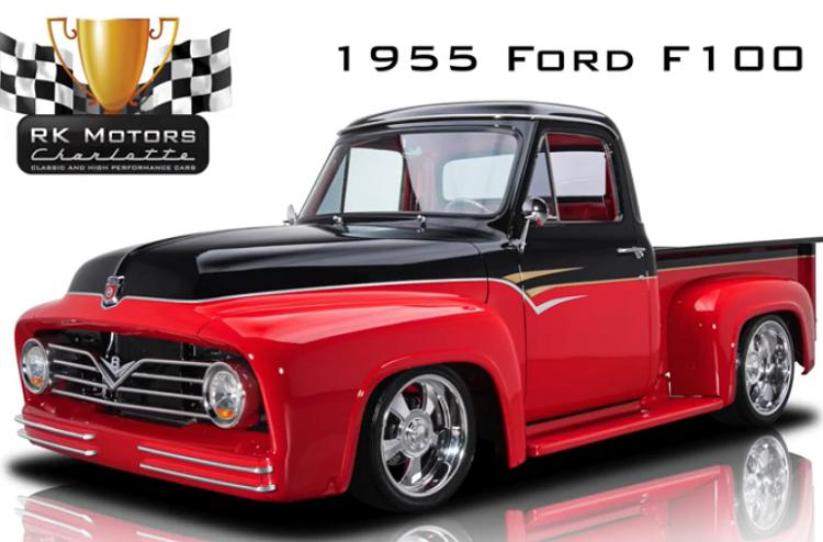 Ford F-100 1955 sau 15 năm độ, từ 11 triệu bán 3,7 tỷ đồng