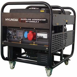 Máy phát điện Hyundai xăng HY12000LE-3