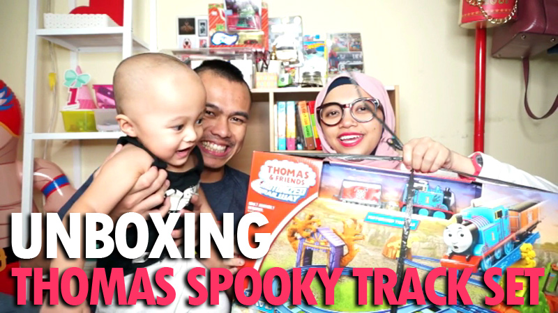 Thomas And Friends Spooky Tracks Set Unboxing Annisast Com Parenting Blogger Indonesia