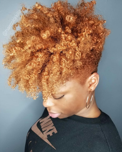 2019 Simple and Outstanding Natural Hairstyles