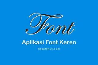 Aplikasi Font