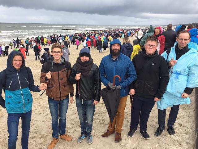 'Rosário nas Fronteiras' nas praias do Mar Báltico 3