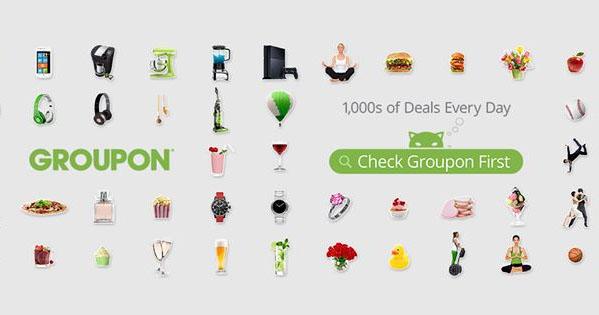 Groupon discount coupons