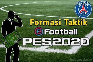 Formasi Terbaik PSG PES 2020