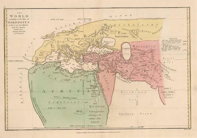 Tarihin Babası Heredot ve Dünya Haritası