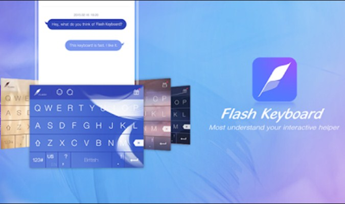 Aplikasi Keyboard Terbaik tuk iPhone - Flash Keyboard