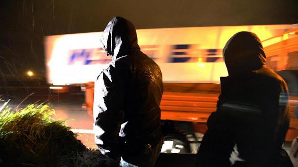 Reims: le camion se gare à l'hypermarché de Champfleury, huit migrants en descendent