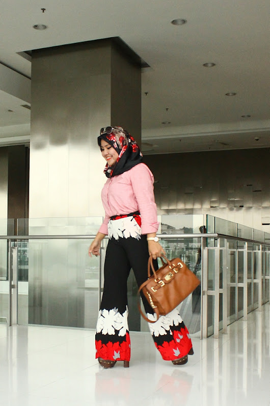 What So Sizzle Bout Sizzling Suzai - Malaysia Fashion, Travel and Lifestyle Blogger: Look #226 - That Statement Pants