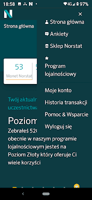 NorstatPanel, aplikacja mobilna.