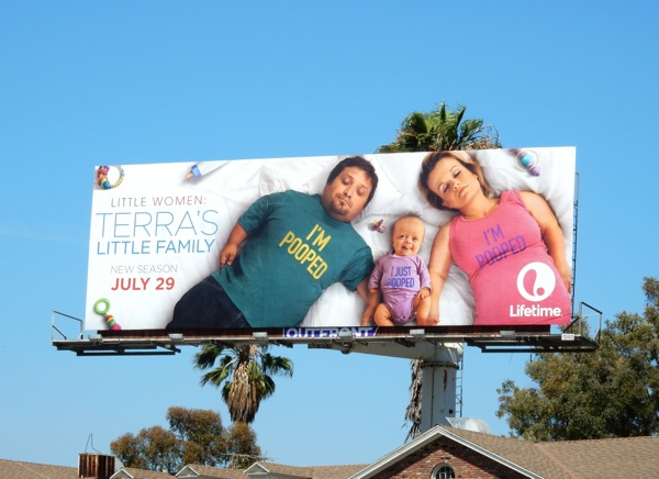 Little Women Terra's little family Pooped billboard