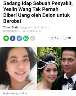 Ternyata Delon Hobi Berjudi, Resmi Bercerai, Serta Tidak Pernah Membiayai Istri Di Rumah Sakit