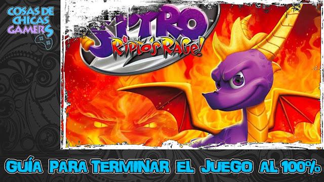 Guía para completar Spyro 2 Ripto's Rage