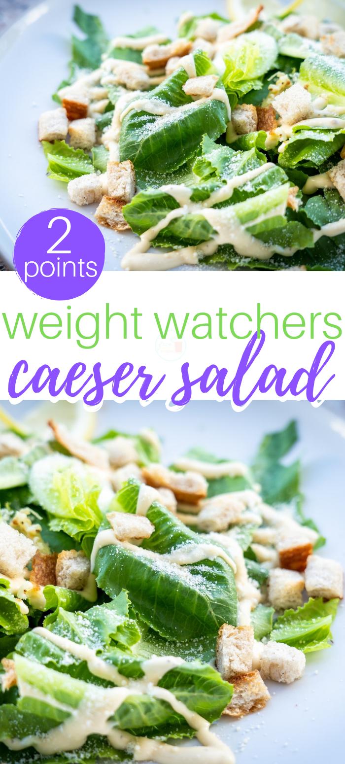 weight watchers caesar salad recipes 2 points dinner