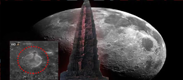 Βρέθηκε ένας Γιγάντιος Σπειροειδής Πύργος στην Επιφάνεια της Σελήνης!! (video)