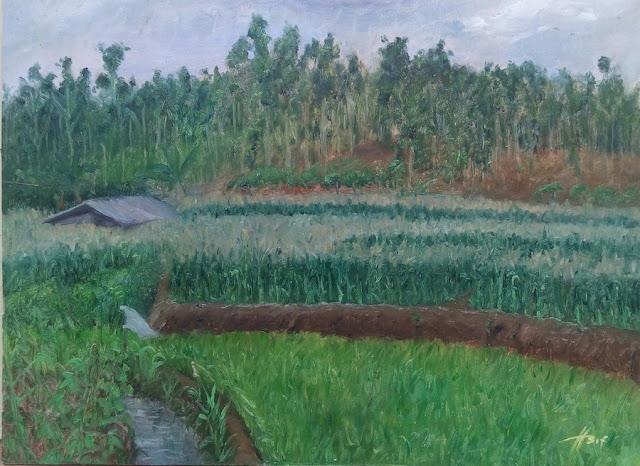 Sawah Painting