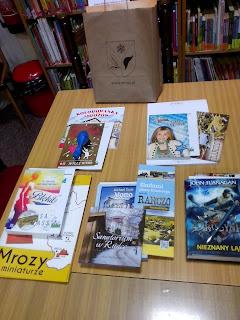 Nagrody dla najaktywniejszych czytelników wakacji