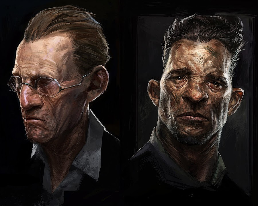 dishonored 2 civilian portraits