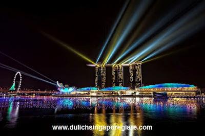 khách sạn marina bay ở singapore