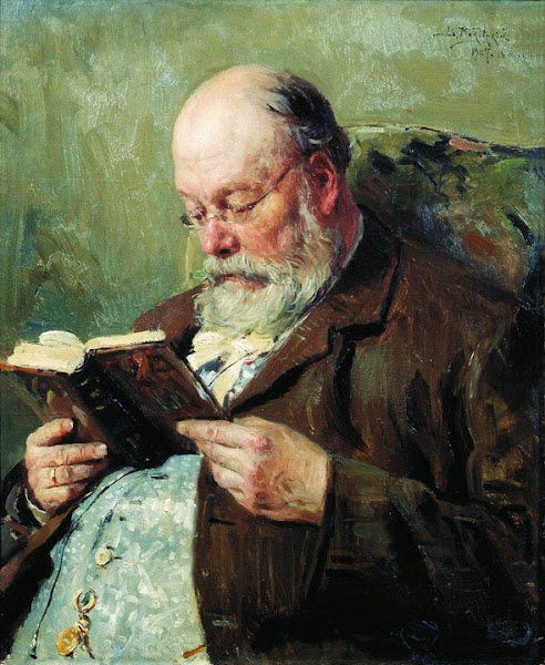 Маковский Владимир Егорович - Портрет академика Ивана Ивановича Янжула. 1907