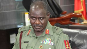 AccordingTo News, Nigerian Army Said That Major Adeosun was only promoted to the rank Lieutenant General