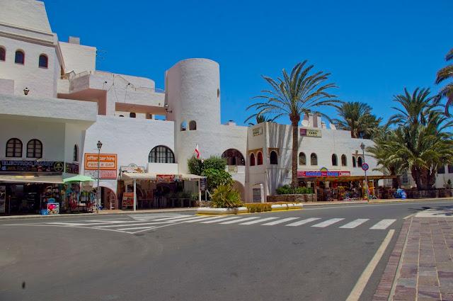Gran Canaria, Bahia Feliz, wakacje, miasteczko