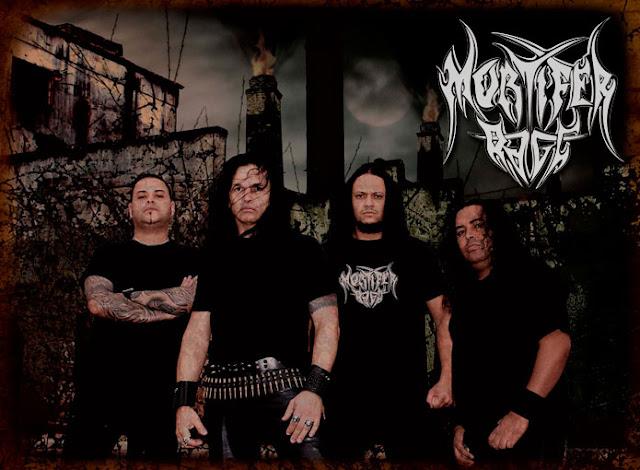 Mortifer Rage: abrindo sua agenda nacional; primeiros shows confirmados