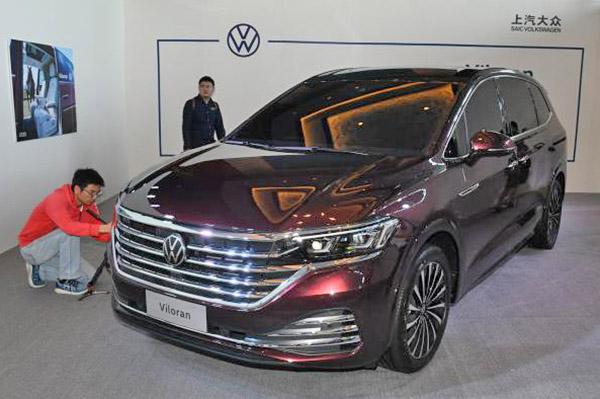 VW Viloran debuts as estate-like MPV for China
