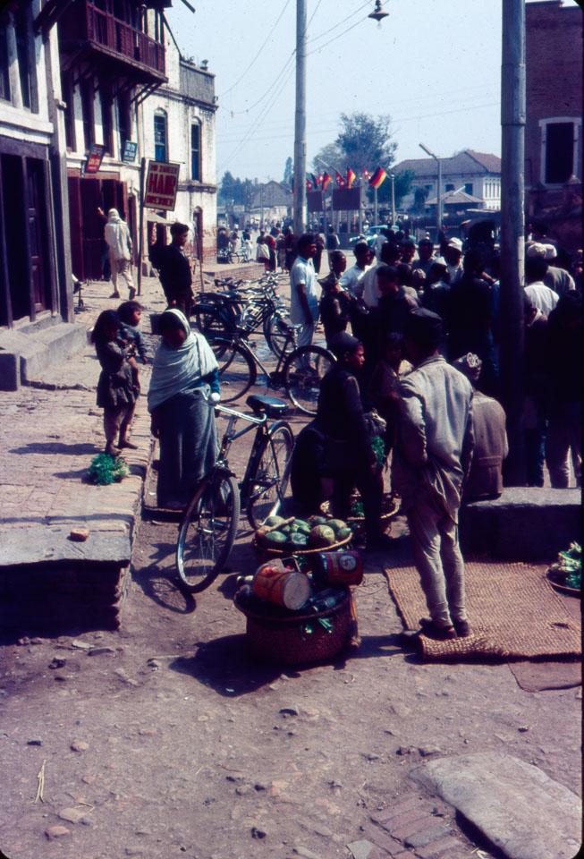 old pic of kathmandu