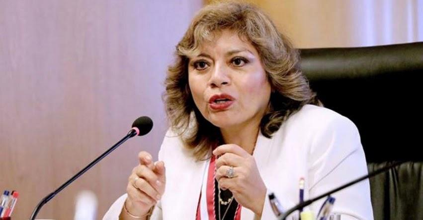 ZORAIDA ÁVALOS RIVERA: Magistrada suprema asumió Fiscalía de la Nación