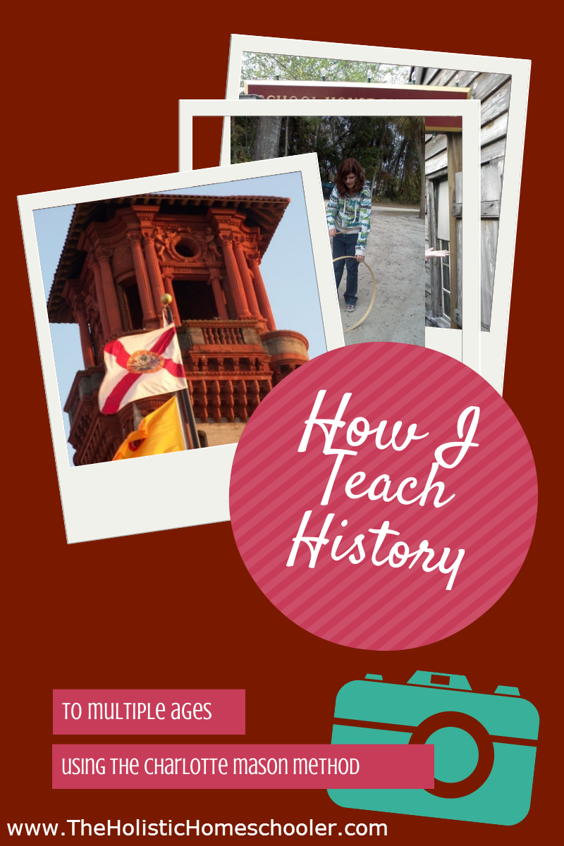 How I Teach History to Multiple Ages Using the Charlotte Mason Method