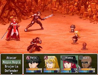 Los guerreros iluminados (Juego completo) Batalla