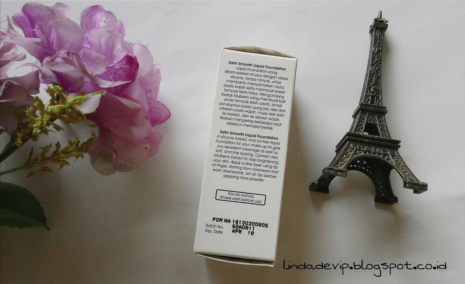 Review Inez Satin Smooth Liquid Foundation 01 Ivory Hi Barbie Face Powder Itu Ada Aturan Pakainya Guys
