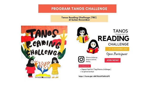 tantangan untuk membaca buku