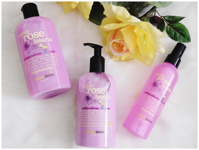 beauty | treaclemoon | pretty rose hearts | shower gel, body milk & body spray | duschcreme, körpermilch & körperspray | more details on my blog http://junegold.blogspot.de | life & style diary from hamburg | #beauty  #treaclemoon #prettyrosehearts #showergel #duschcreme #bodymilk #körpermilch #bodyspray #körperspray