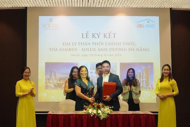 Lễ ký kết phân phối sản phẩm Soleil Đà Nẵng tới các đại lý