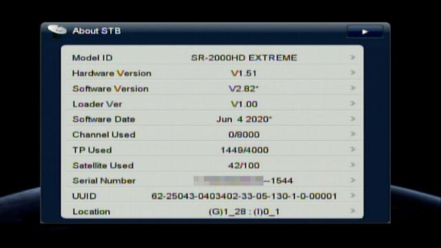 STARSAT SR 2000 HD EXTREME RECEIVER SET TOP BOX NEW SOFTWARE UPDATE 2020
