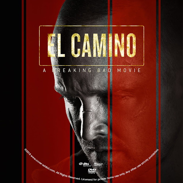 El Camino: A Breaking Bad Movie DVD Cover