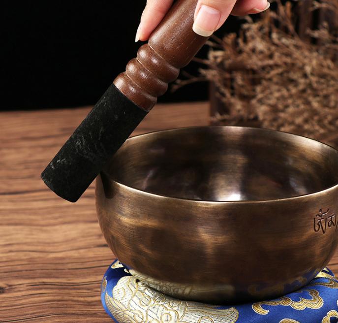 Palo para cuenco tibetano hecho a mano