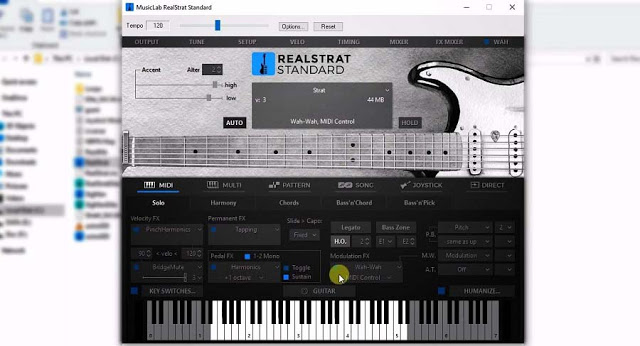 Musiclab Real Strat5 (2019) VST Plugin Audio